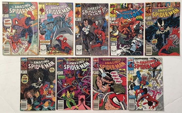 The Amazing Spider-Man 327 329 330 331 332 333 334 339 340 Marvel Comics 9 Lot  Lots of #AmazingSpiderMan #comicbooks available to buy online!  #superhero #spiderman #spidermanhomecoming