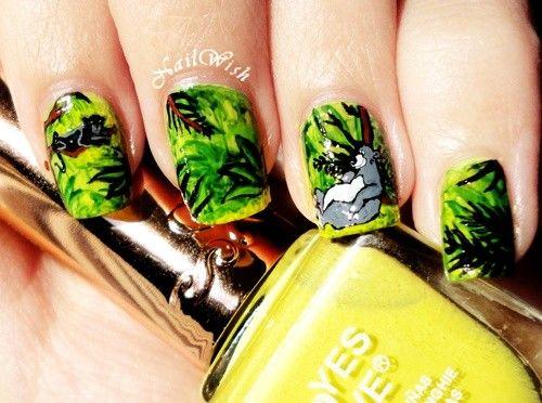 Nail, nail, nail / The Jungle Book Baloo Nails