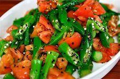 Aprenda a preparar uma deliciosa receita de Salada de Quiabo.