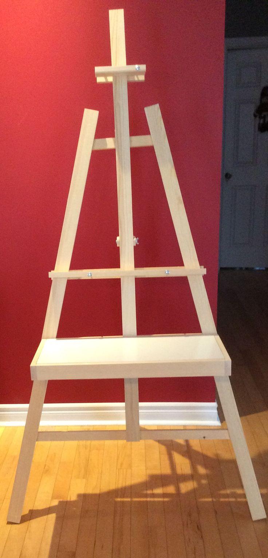 Chevalet ajustable pour peintre