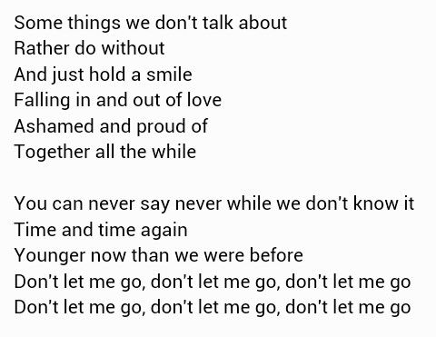 Happiness the fray lyrics meaning