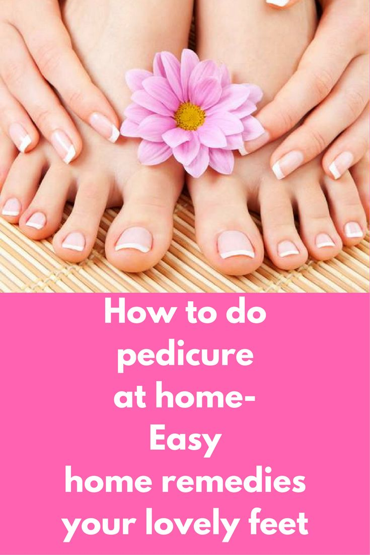 How to do pedicure at home-Easy home remedies your lovely feet How to do a pedicure at home all tips for women to make their feet more lovely using home remedies.You will know how to do an American and French pedicure.