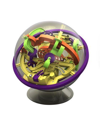 Perplexus Maze Game. I've played this (and I'm an adult of some years, I hasten to add). It's devilish in its construction and addictive to the point of teaching anyone, of any age, new levels of manual dexterity and hand-eye coordination.