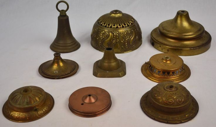24 best antique lamps and parts images on pinterest antique lamps antique vintage electric lamp parts lot canopys aloadofball Choice Image