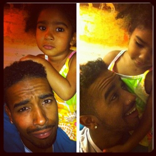 jhene aiko's daughter,Nami,and the father of her baby,O'ryan