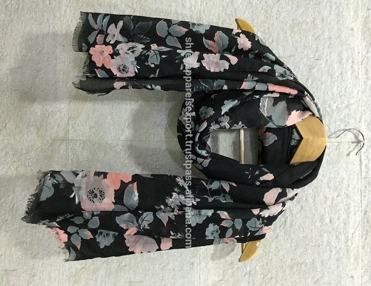 HIGH QUALITY INDIA LATEST WOMEN'S VISCOSE SCARF HEAVY WEIGHT