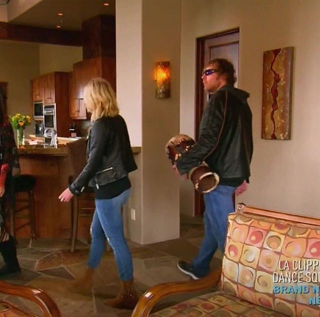 Dean Ambrose and Renee Young on total divas