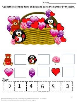 17 best images about february worksheets on pinterest valentines cut and paste and student. Black Bedroom Furniture Sets. Home Design Ideas
