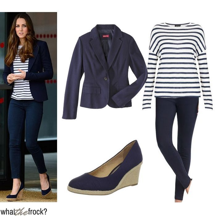Celebrity Look for Less: Kate Middleton Style
