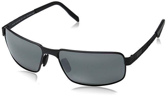 52f59ac37c3af Maui Jim Mens Castaway 63 Sunglasses (187) Metal Review
