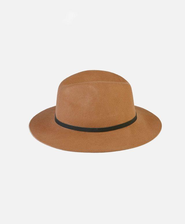 Sombrero cinta piel - OYSHO