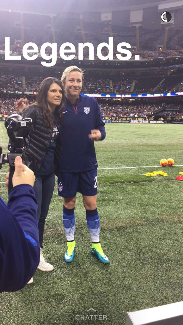 Just LEGENDS | Mia Hamm and Abby Wambach