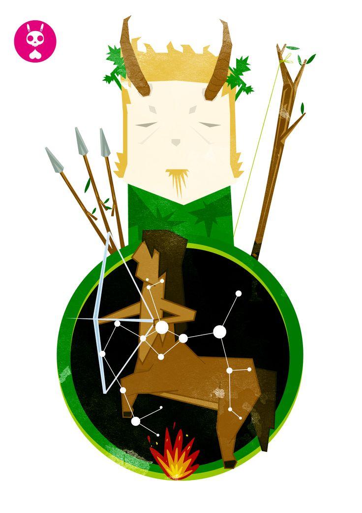 Sagitario (Croto y el arte del tiro con arco)