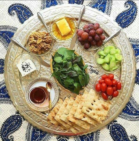 #Iranian #breakfast