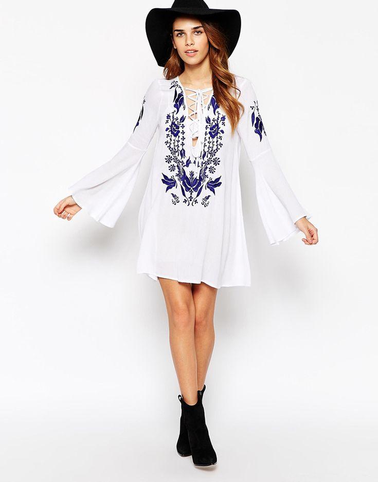 Vestidos color blanco que se usarán en la temporada 2016 - http://vestidosglam.com/vestidos-color-blanco-que-se-usaran-en-la-temporada-2016/