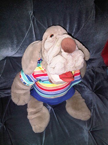 Vintage Wrinkles Large Electronic Talking Dog Hand Puppet-Ganz Bros. Ganz Bros http://www.amazon.com/dp/B008GG9Q0K/ref=cm_sw_r_pi_dp_r.lGwb0H6HEP0
