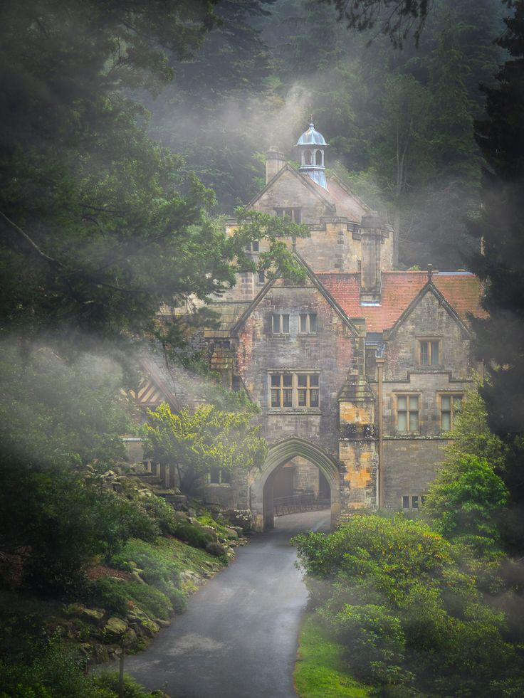 https://flic.kr/p/SRdCsy | Arriving at Cragside, Northumberland | Cragside is the country home of William George Armstrong, a 19th Century engineer who is responsible for a number of inventions and amassed great wealth as a builder of weapons and ships. Cragside was the first private home in the world to have electric lighting supplied by an hydraulic turbine generator and the system was designed by Armstrong. Armstrong also purchased Bamburgh castle late in his life and spent 1 million GBP…