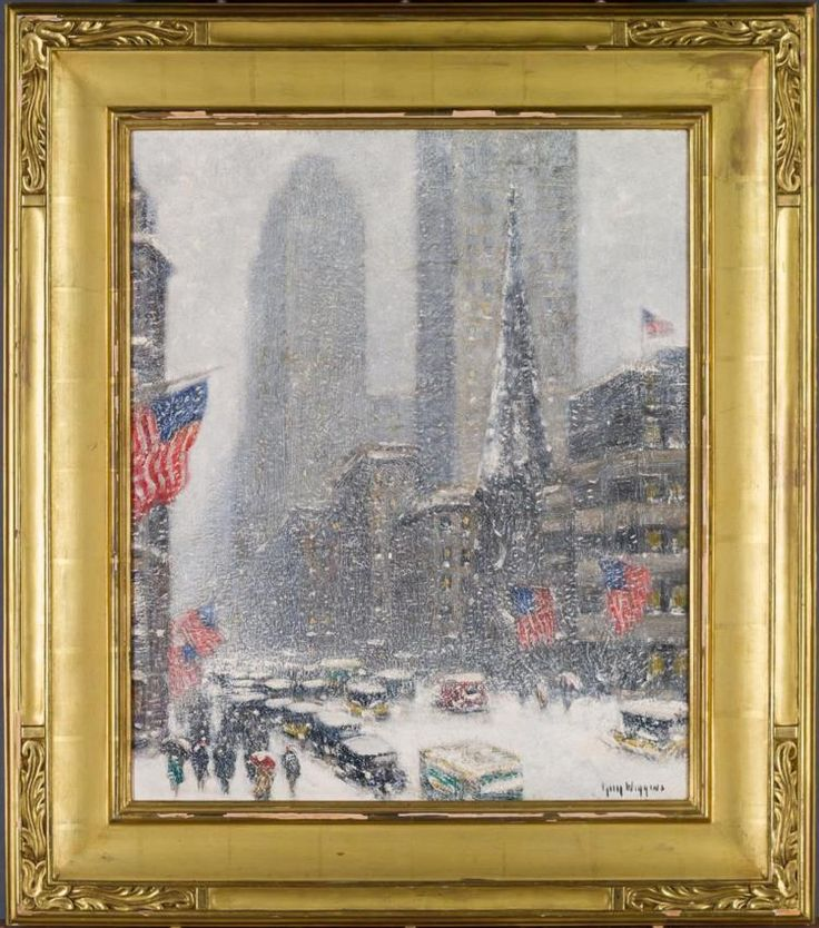 60 best ARTIST- WIGGINS, GUY CARLETON images on Pinterest Oil on - new certificate of authenticity painting
