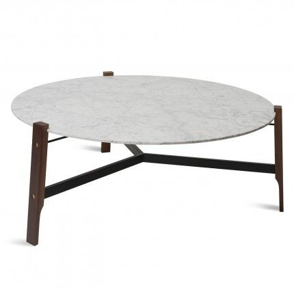 Blu Dot Free Range Coffee Table. Marble, wood, steel and brass- A beautiful blend of materials