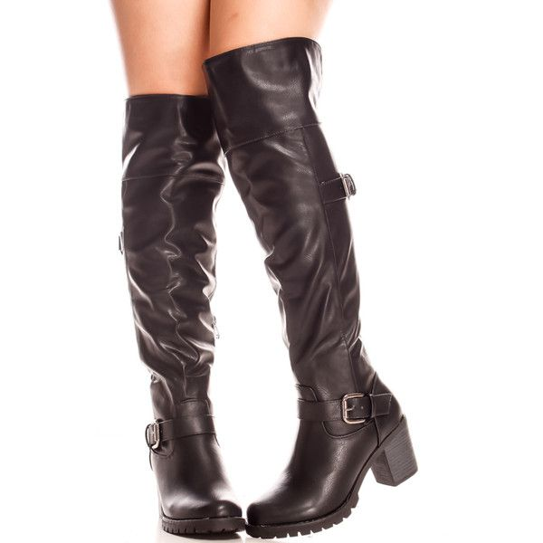 knee high converse boots with buckles and straps