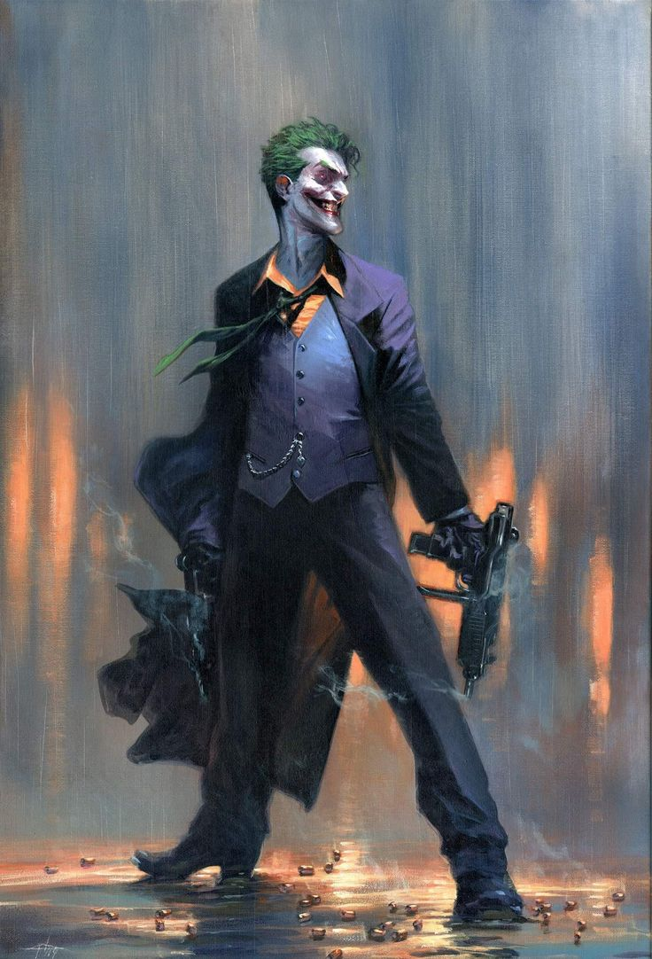 [Cover] Joker 1 variant by Gabriele Dell'Otto Joker