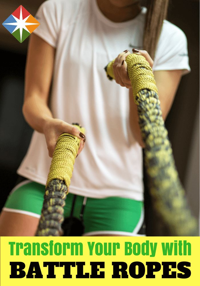 Discover the Body-Transforming Power of Battle Ropes