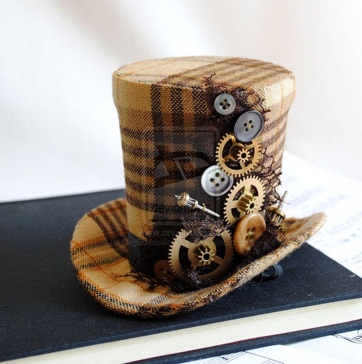 Exceptionnel 352 best Steampunk Hats images on Pinterest | Steampunk top hat  TC07