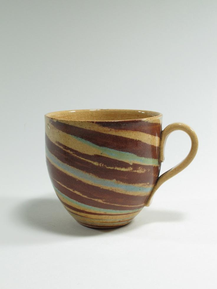 Warren Tippett, mug, agate ware, 1983, Auckland, New Zealand. Collection of Auckland Museum, K6564