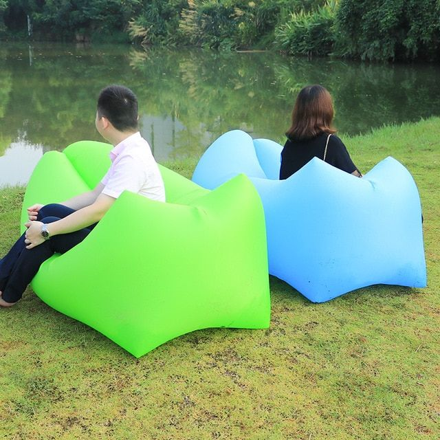 Outdoor Camping Equipment Inflatable Sofa Lazy Bag Air Sofa Bed