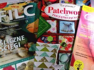 Jeśli szycie, filcowanie i patchwork to Twoje pomysły na biznes, koniecznie powinnaś poznać te magazyny.