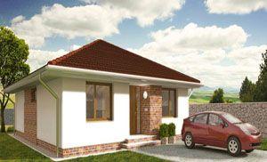 Projekty domov | Nízkoenergetické | Stavba domu na kľúč