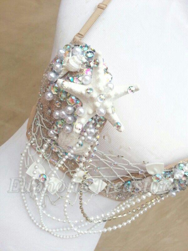 Adult Little Mermaid Costume  Sirena♥ #mermaid #ravebra #raveattire #edc