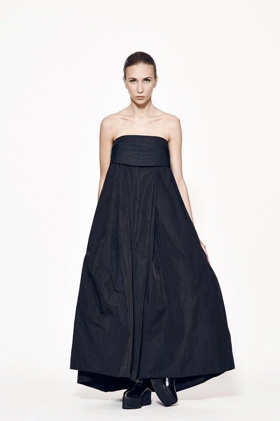 Amazing Long Black Dress / Awesome long skirt / by MariaQueenMaria, $119.00