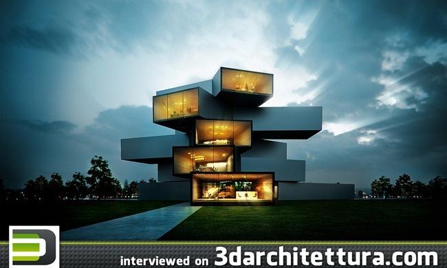 Sergio Mereces, render, 3d, architecture,   3darchitettura www.3darchitettura.com/sergiomereces/