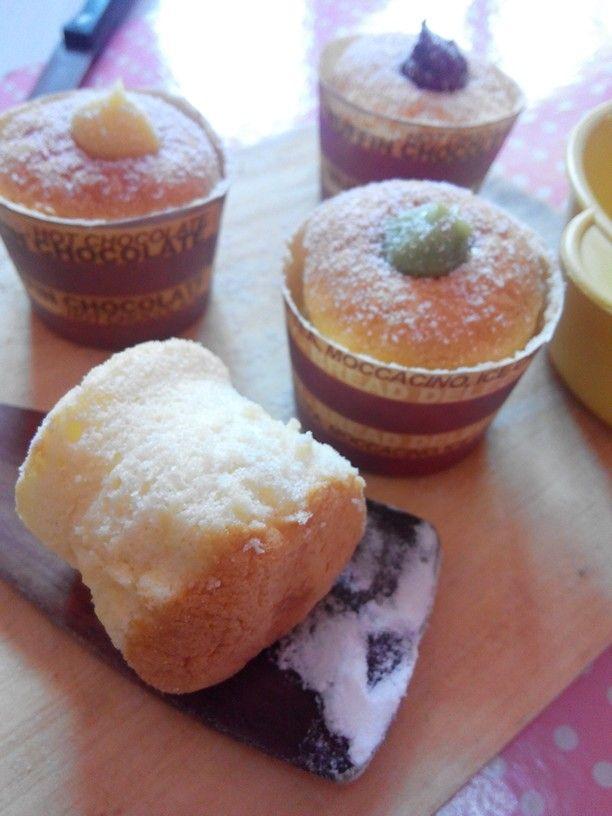 Hokkaido chiffon cupcake Made by me
