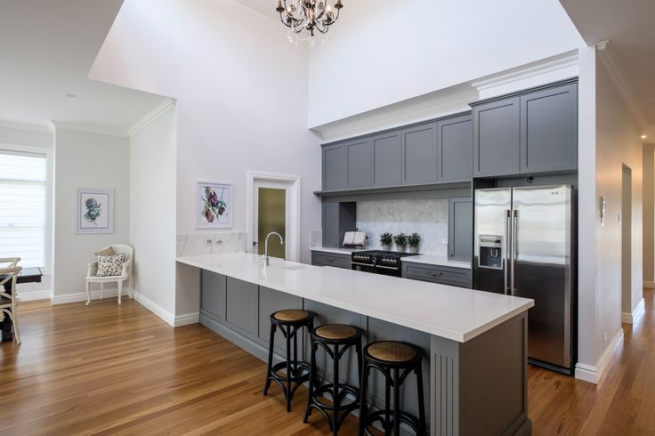 Redbank Display Home I Spacious Kitchen with void above