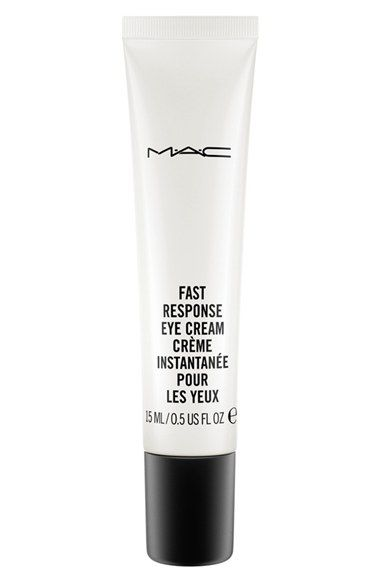 MAC Fast Response Eye Cream at Nordstrom.com. The super-charged, caffeinated cream with instant effects. De-puffs, erases the look of dark circles, firms, soothes and softens skin around the eye. Special optics act like magic to fade away lines.