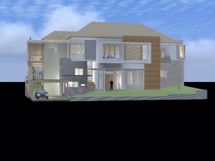 Design, House at Citraland Manado