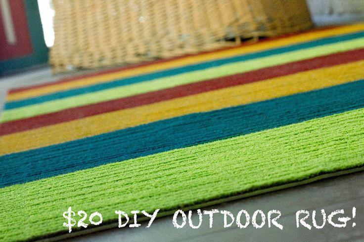 Cómo decorar una alfombra de exterior | Decorar tu casa es facilisimo.com