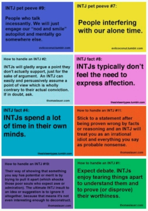 how to show an intj you love them