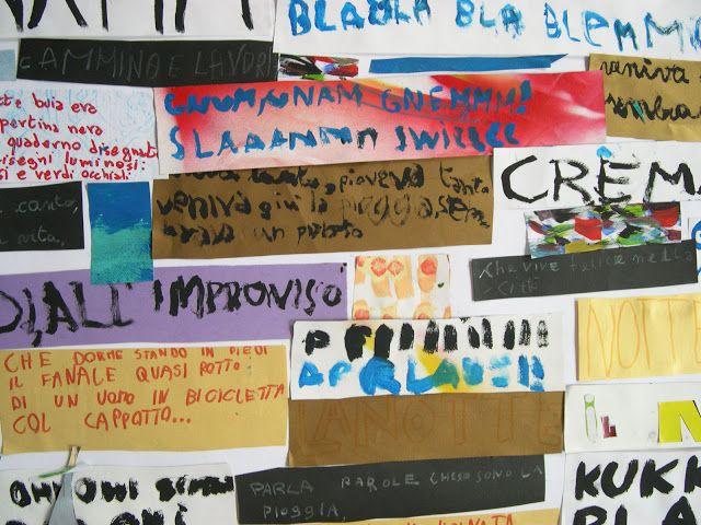 bambini_colori_emozioni: UN QUADRO DI PAROLE La scrittura diventa un quadro una composizione di parole, ritmo e colori.