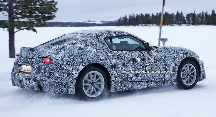All-New Toyota Supra Caught Winter Testing With Some Changes