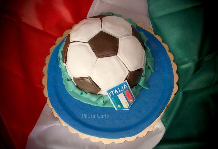 Torta pallone Italia!