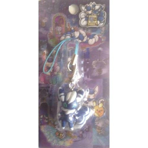 Pokemon Center 2014 Espurr Wanted Campaign Meowstic (Male) Mobile Phone Charm Strap