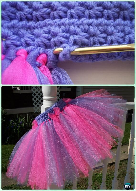 Crochet Star Stitch Tutu Skirt Free Pattern Instructions-Crochet Tutu Dress Free Patterns