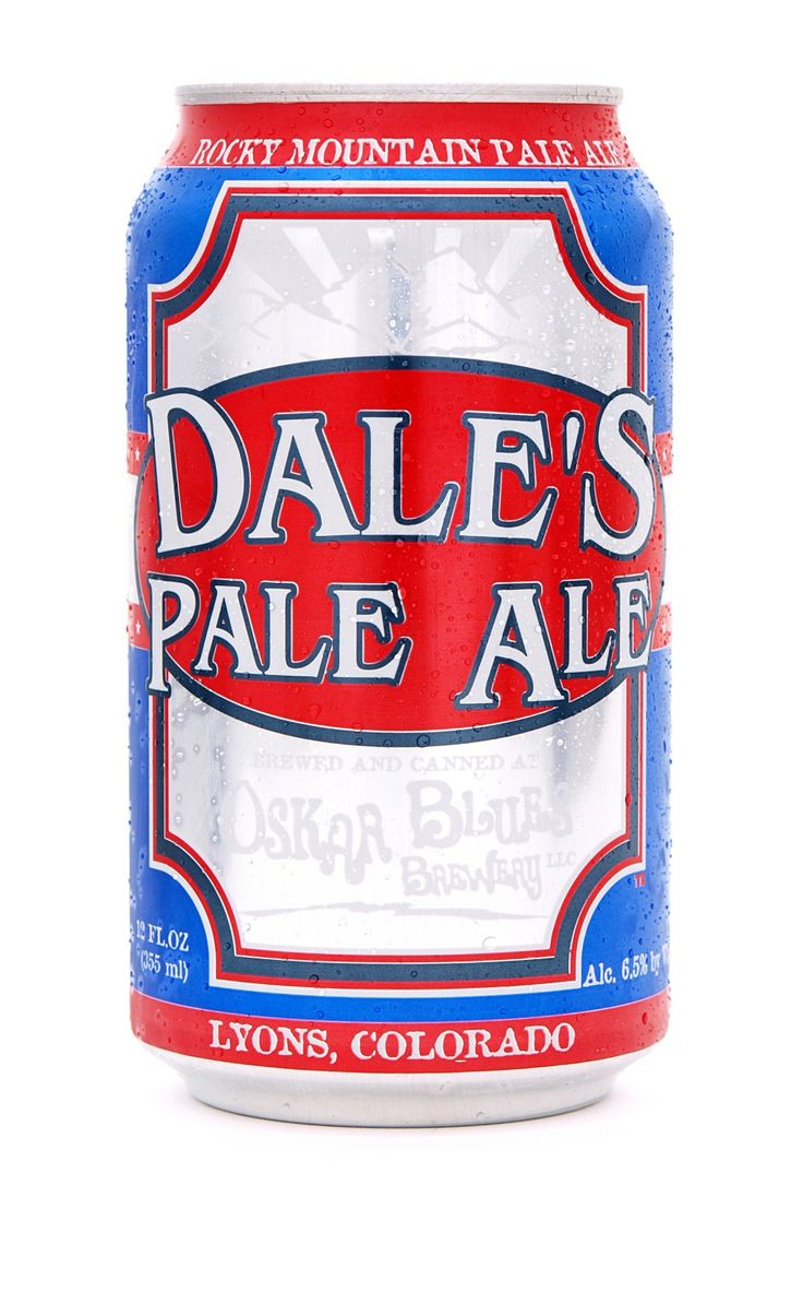 Oscar Blues Brewery -Dale's Pale Ale