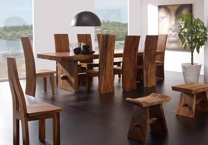 The 25 best comedores rusticos de madera ideas on for Muebles coloniales