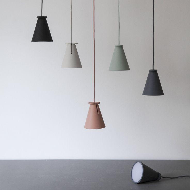 Menu BOLLARD - Lampe baladeuse Gris Foncé H13cm