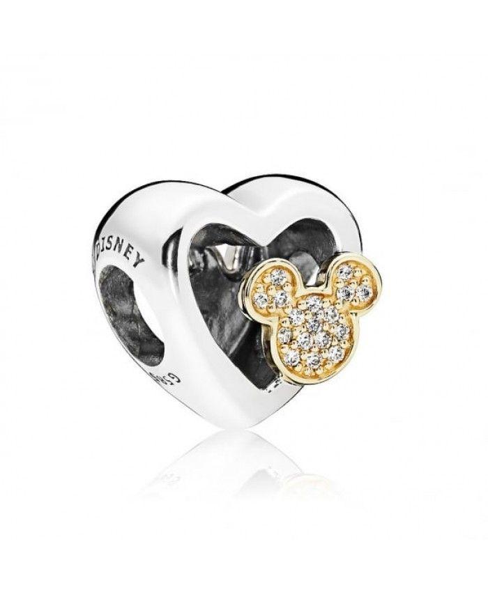 Authentic Pandora Disney Mickey & Minnie Love Icons Charm 796463CZ On Sale