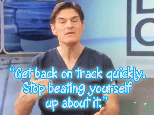 I'm not such a fan of Dr. Oz, but the gif says it all.